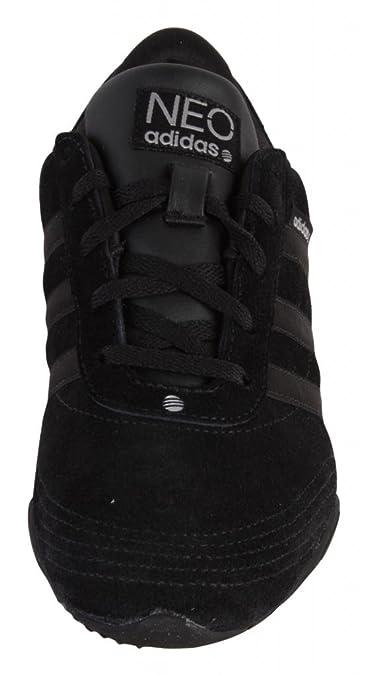Adidas Neo Label Newel Damen Leder Turnschuhe Schuhe Freizeitneakers