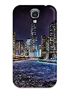 Top Quality Protection Chicago Case Cover For Galaxy S4