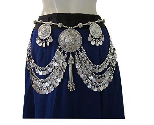 Tribal Belt Oxidized Vintage Festival Bohemian Womens Fashion - Tribal Fusion Belt