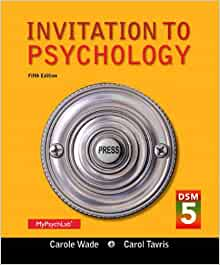 Invitation To Psychology 5Th Edition as perfect invitations ideas