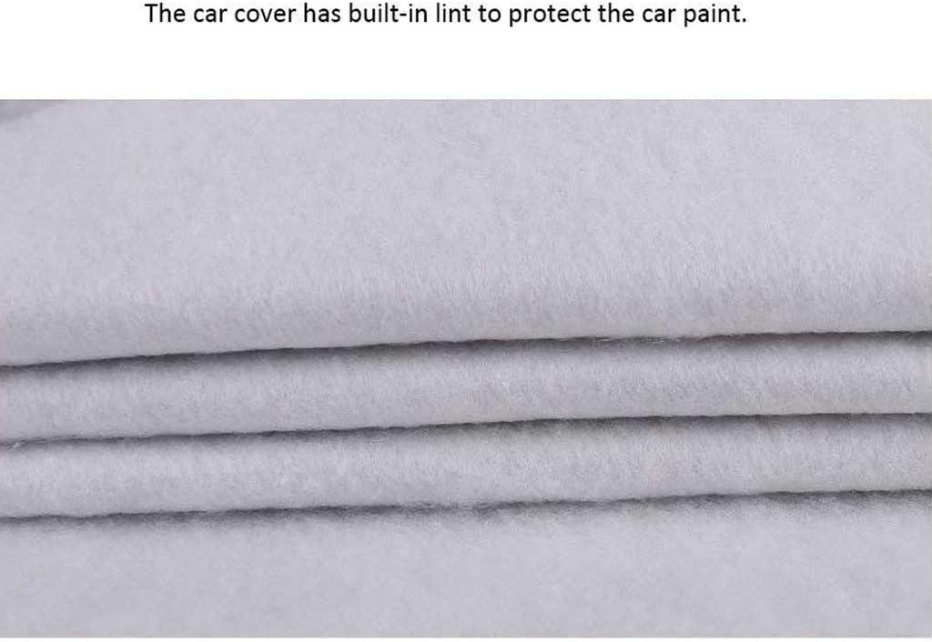Color : Oxford Cloth - Built-in lint WJSXJJ Autoabdeckung Tesla Model S Spezielle Auto-Cover Car Kleidung Thick Oxford Cloth Sonnenschutz Regen-Abdeckung Auto-Cloth Car Cover