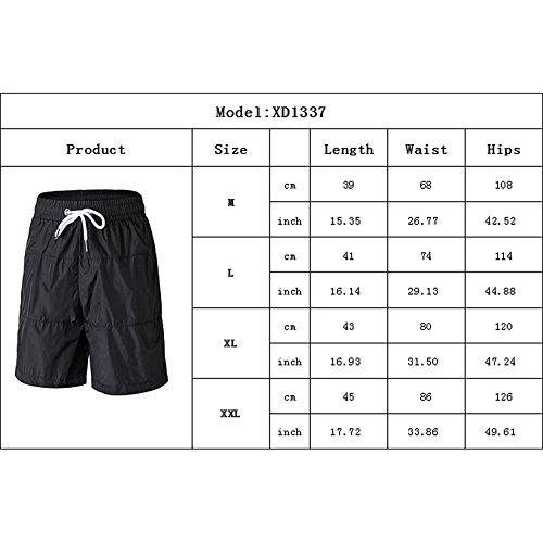Yiitay Uomo Sportivi Fitness Asciugatura Rapida Pantaloncini Sportivi Fitness(Style B,2XL)