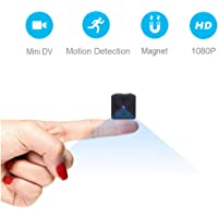 Mini Spy Hidden Cameras, ZZCP 1080P HD Small Wireless Home Security Surveillance Camera, Covert Micro Nanny Cam with Night Vision and Motion Detection, Perfect Video Body Camera for Indoor and Outdoor