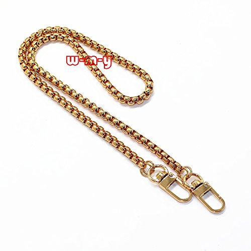 ox Chain Strap Handbag Chains Accessories Purse Straps Shoulder Replacement Straps, with Metal Buckles Style2 (Gold) ()