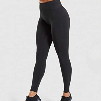 Amazon.com : YJKDM Yoga Pants High Waist Seamless Leggings ...