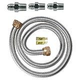 Dormont 30-3131KIT-48 Gas Range Installation Kit 48-Inch Length 5/8-Inch Diameter
