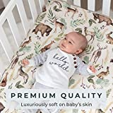 Pobibaby - 2 Pack Premium Fitted Baby Boy Crib