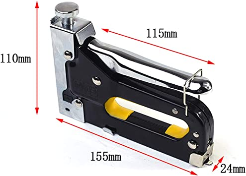 INFILM - Grapadora manual 3 en 1 para pistola de clavos y muebles ...