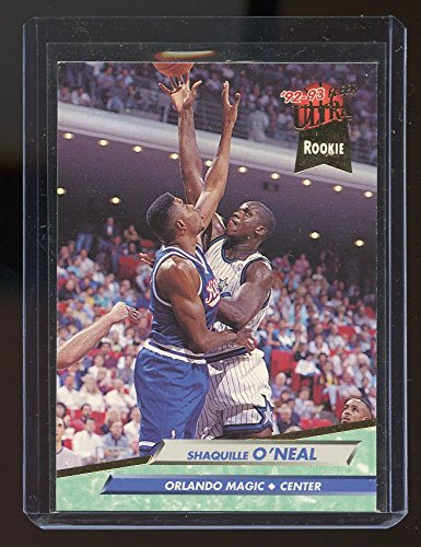 (1992-93 Ultra #328 Shaquille O'Neal Orlando Magic Rookie Card - Mint Condition Ships in New Holder )