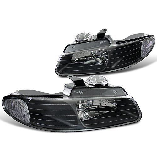 Spec-D Tuning LH-CAR96JM-RS Black Headlight (Euro Housing) ()