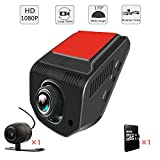 AIDOUT FHD 1080P Dash Cam - 170° Wide Angle Dashboard Camera Recorder 3