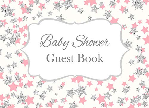 Baby Shower Guest Book: Pink Twinkle Twinkle Little Star Advice for Parents and Gift Log ()