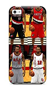 New Style 8120550K399491238 portland trail blazers nba basketball (2) NBA Sports & Colleges colorful iPhone 5c cases