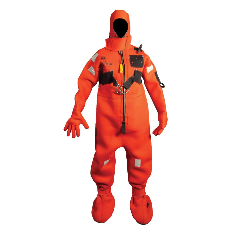 Mustang Adult Small Survival Neoprene Solas Immersion Suit by Mustang