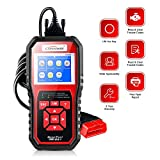 KONNWEI 【Upgraded】 OBD2 Scanner,Professional Diagnostic Auto Code Reader,Car Diagnostic Tool Check Engine Light Scan Tool for OBD II Cars Since 1996