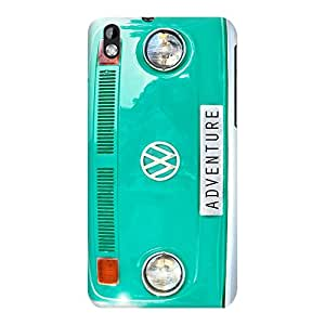DailyObjects Adventure Case For HTC Desire 816