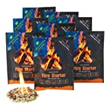 Instafire Fire Starter Pouches, Durable Mylar Packs Lights up to 4 fires, No Harmful Chemicals, ECO Friendly – Use at Campfire, Fireplace, Cooking, Charcoal, Emergency,