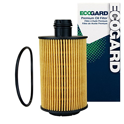 ECOGARD X10232 Cartridge Engine Oil Filter for Conventional Oil - Premium Replacement Fits Ram 1500 / Jeep Grand Cherokee