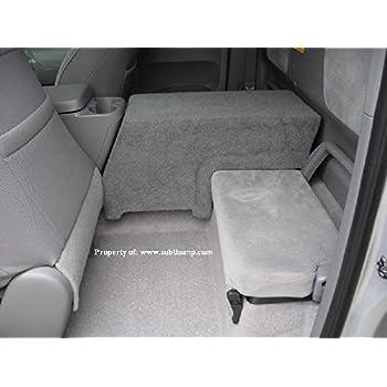 Toyota Tacoma Access Cab >> Amazon.com: 2005-2009 Toyota Tacoma Access Cab Single 10 Downfire Subwoofer Box: Car Electronics