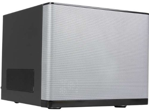 Rosewill Legacy V6-S Silver Structure Mini-ITX Tower Computer Case Cases Legacy V6-S Silver (Power Supply Psii)