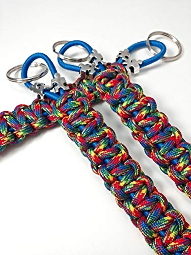 Buy autism ribbon keychain