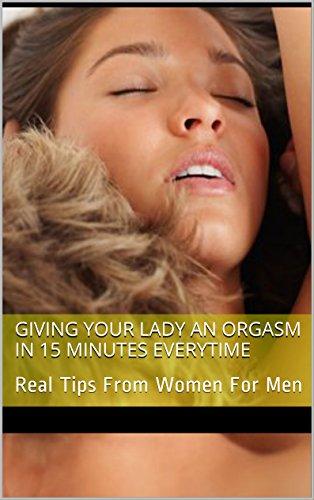 Lady orgasm