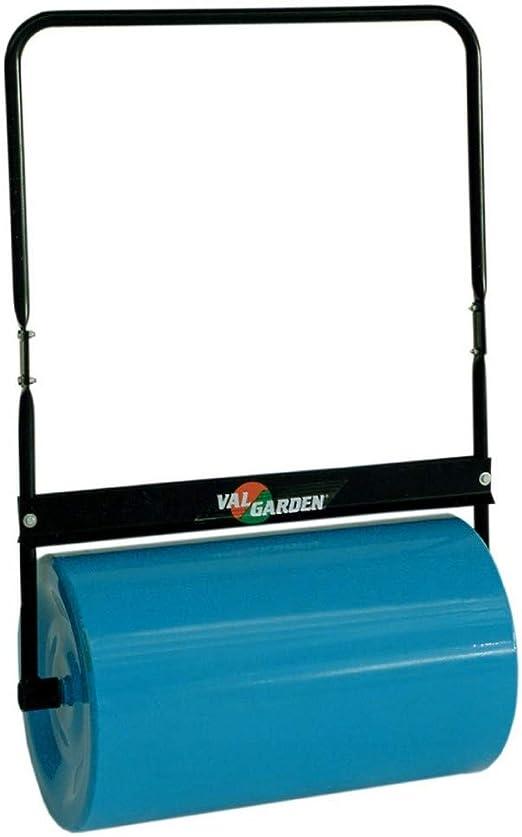 VALGARDEN - Rodillo de jardín para césped, rascador de Mano, Profesional, Capacidad de llenado con Agua 72 kg o con Arena 110 kg: Amazon.es: Jardín
