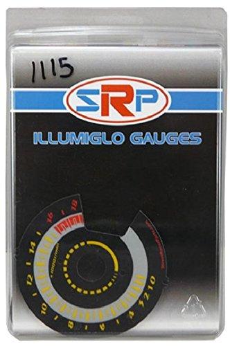 (Street Racer Parts SRP1115 Yellow Reverse Style Illumiglo Gauge)