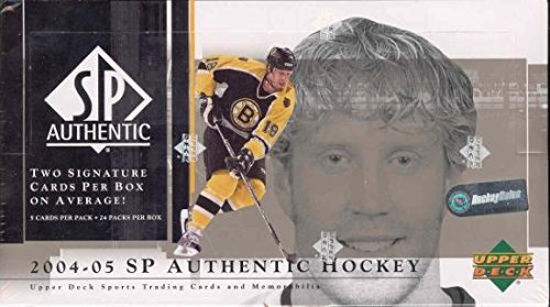 2004/05 Upper Deck SP Authentic NHL Hockey HOBBY (Nhl Sp Authentic Trading Card)