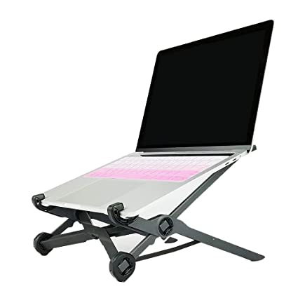CanKun El Soporte Plegable Ajustable, Soporte Portable para el Ordenador portátil, Cuaderno de la