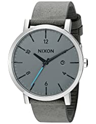 Nixon Men's A945147 Rollo Analog Display Japanese Quartz Grey Watch