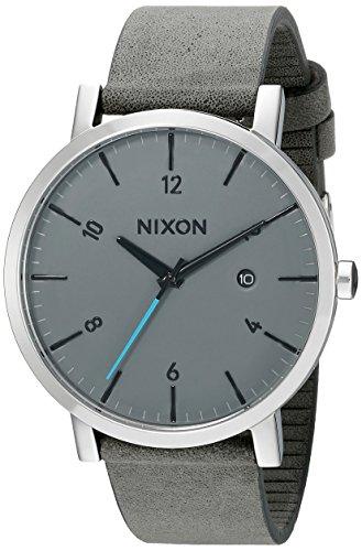 nixon-mens-a945147-rollo-analog-display-japanese-quartz-grey-watch