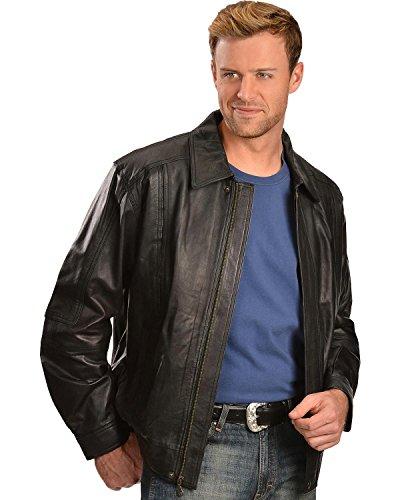 Scully Men's Premium Lambskin Jacket Tall Black XXX-Large Tall