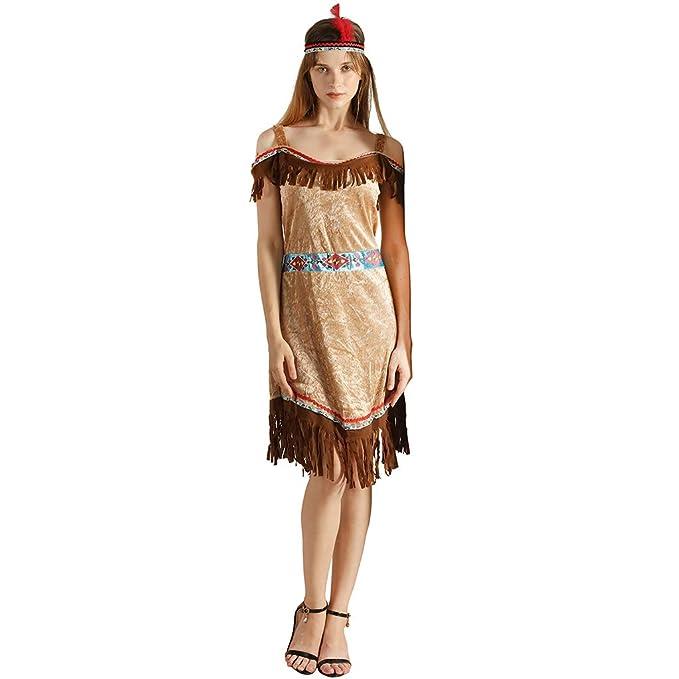 Amazon.com: EraSooky - Disfraz de mujer con diadema: Clothing