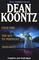 Three novels by the popular horror writer explore themes of death, memory, and psychic phenomena, in an omnibus edition that includes Cold Fire, The Key to Midnight, and Hideaway.