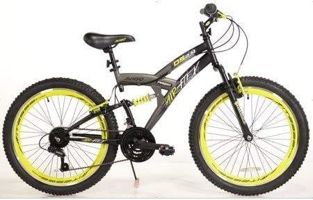 Avigo - Bicicleta de suspensión Doble Air Flex de 24 Pulgadas: Amazon.es: Deportes y aire libre