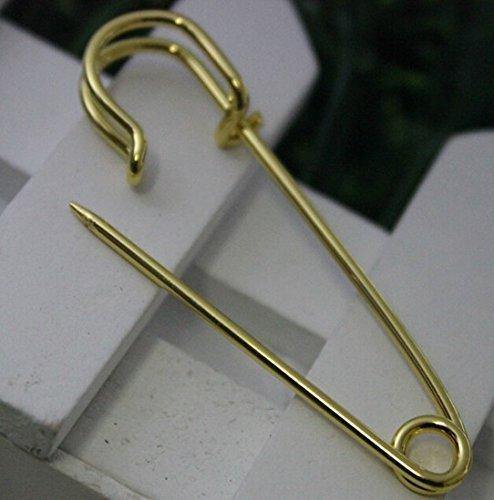 gonne TM pezzi Set di colori 10,2/cm Large metal Steel pin di sicurezza Yeqin Kilts artigianato grande e potente per coperte