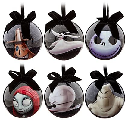 fd4f302037799 Disney Tim Burton s 2014 The Nightmare Before Christmas Decoupage Ornament  Set~ Jack Skellington
