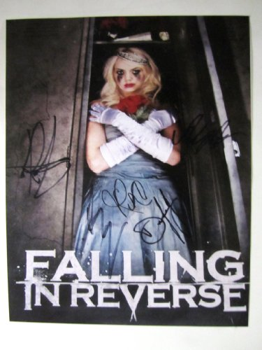 Falling in Reverse RP signed 11x14 album art poster photo Reprint Radke