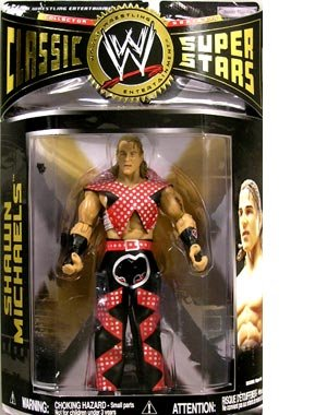 WWE Classic Superstars Series 15 > Shawn Michaels Action Figure by Jakks Pacific