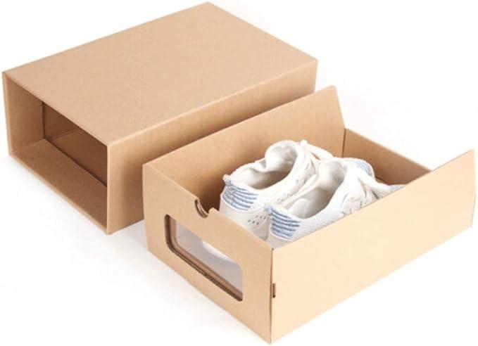 HENGXIANG La Caja de Zapatos, cajón de Almacenamiento de la Caja ...
