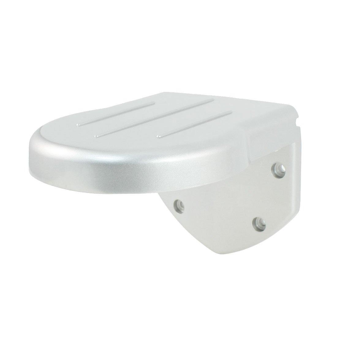 uxcell Aluminium L Shape Outdoor Wall Mount Security Shelf Dome Camera Bracket