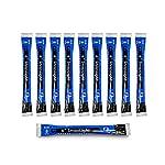 Cyalume SnapLight Industrial Grade Chemical Light Sticks, Blue, 6″ Long, 8 Hour Duration (Pack of 10)