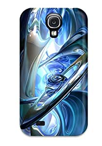 Defender Case For Galaxy S4, 3d Abstract Pattern