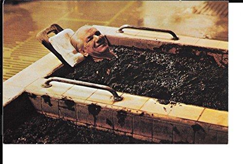 Calistoga California Dr Wilkinson's Hot Springs Mud Bath vintage postcard V4565