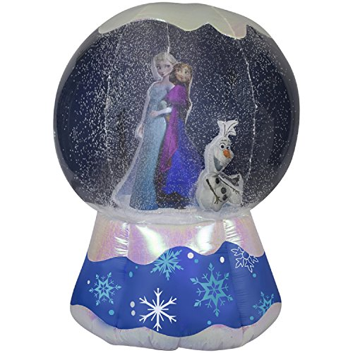 (Gemmy Photorealistic Airblown Inflatable Frozen Snowglobe (6-Feet) )