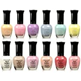 Kleancolor Collection - Beautiful Assorted Pastel Nail Polish 12pc Set
