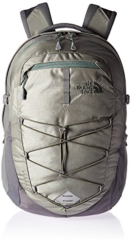The North Face Unisex Borealis Moon Mist Grey/Duck Green Backpack