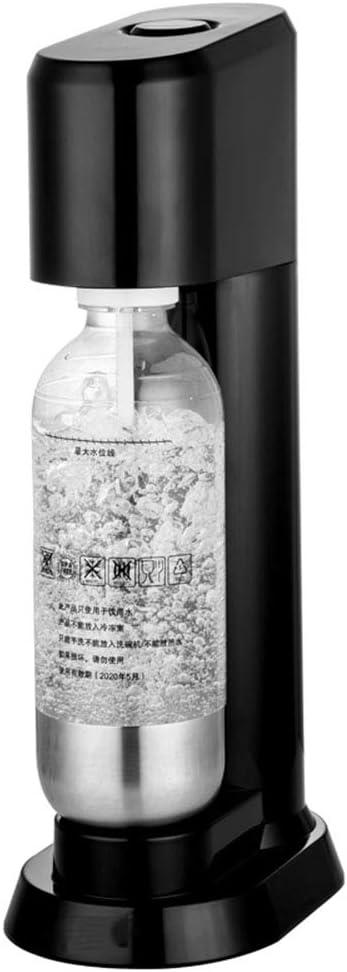 スパークリングウォーターメーカーソーダメーカーゆか子ボトル自動圧力リリーフ付き, カーボは含まれていません