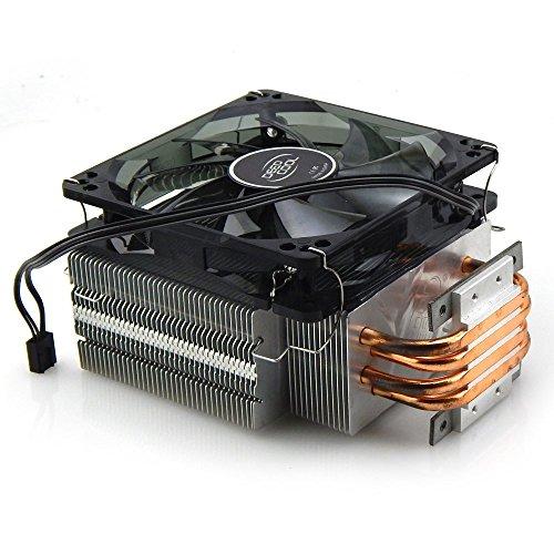 TX 4 Copper Pipe Heat Sink With Fan For 50W 100W 150W High Power Led Chip (Heatsink)